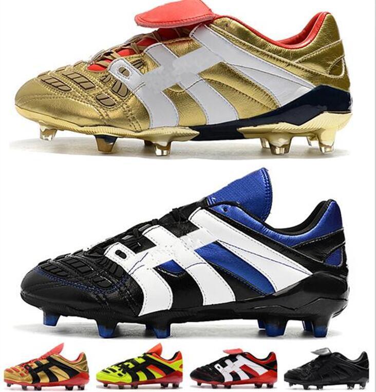 2020 nuovi colori Predator Accelerator FG Uomo Scarpe da calcio PP Paul Pogba leggero FG morsetti di calcio di design più economico scarpe da calcio Falcon