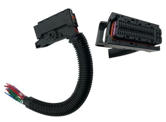 BOSCH ECU EDC17 WEICHAI J7 Placa do computador 94PIN 60PIN Converter Cable