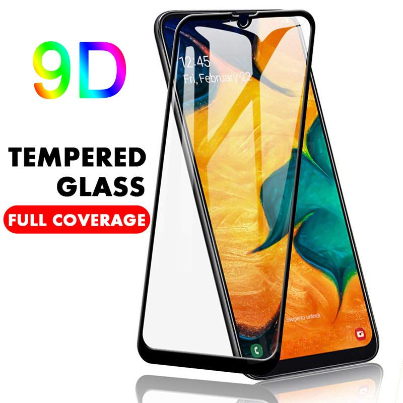 9D Copertura vetro temperato per Samsung Galaxy J7 Prime 2 J2 J5 vetro di protezione per Samsung S10E S6 S7 M10 M20 M30 della protezione dello schermo