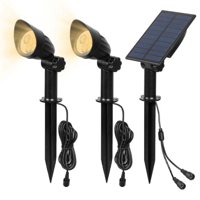 이 집 정원 잔디 램프 야외 방수 LED 가로등 태양 광 램프 스포트 라이트 한 10185