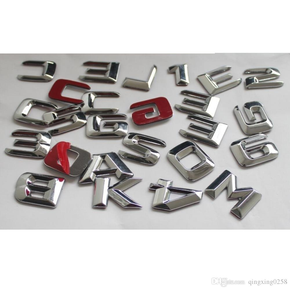 ML55 ML63 AMG ML300 ML320 ML350 ML400 ML500 ML550 4MATIC CDI Rear Boot Emblem Badge Black Letters Emblems