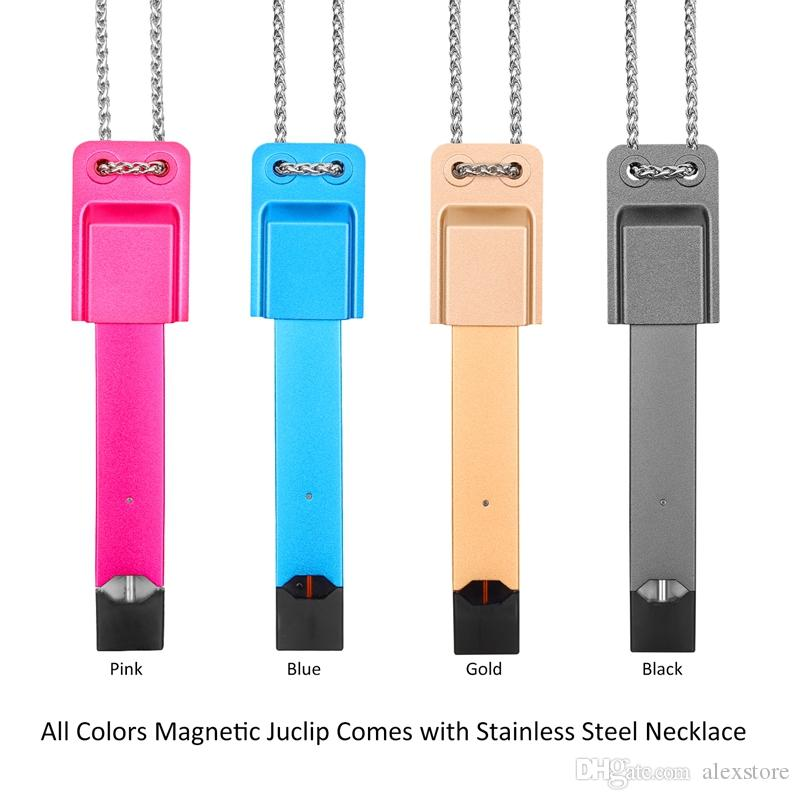 Juclip Lanyard For COCO Jul With Strong Magnet Magnetic Tips Necklace Holder Metal SS Stainless Steel String with Blister Packaging DHL
