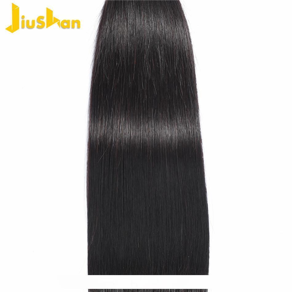 Brasileiro Virgem Cabelo da onda do corpo em linha reta cabelo humano não processado brasileiro Weaves Pacotes Corpo brasileira Cabelo onda pode ser tingido pc 100g