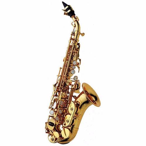 Kalite Yanagisawa SC-991 Pirinç Altın Vernik Soprano bemol Saksafon Yeni Geliş Saksafon Müzik Aletleri İçin Öğrenci Ücretsiz Kargo