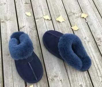 Venta-en botas de nieve cálida tamaño de los zapatos ocasionales de arrastre de algodón desgaste pijamas fiesta en casa antideslizante mujeres de gran tamaño caliente 35-45