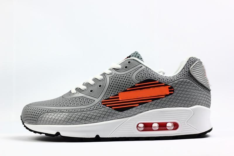 Acheter Nike Air Max 90 Airmax Cool 90 Big Logo NS GPX USA FLAG KPU Chaussures De Course Baskets De Sport De Mode De $91.45 Du Cool_sneaker |
