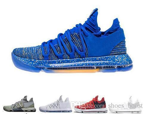 Zoom New Kd 10 Anniversary University Red Still Kevin Igloo Betrue Oreo Men Basketball Shoes Usa Kevin Durant Elite Kd10 Sport Sneakers Kdx