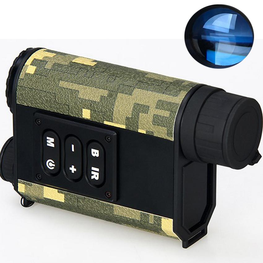 Freeshipping Laser range finder hunt at night vision speed distance test tools telescope Hunting Infrared 4x digital amplification system