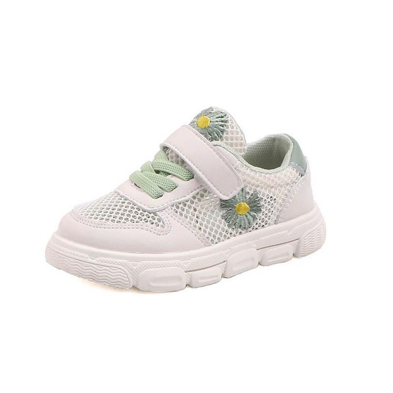 2020 Verano de flores casuales zapatillas de deporte de los zapatos zapatos de niño bebé infantiles de bebé del niño zapatillas de deporte de niño sandalias entrenadores bebé B1245