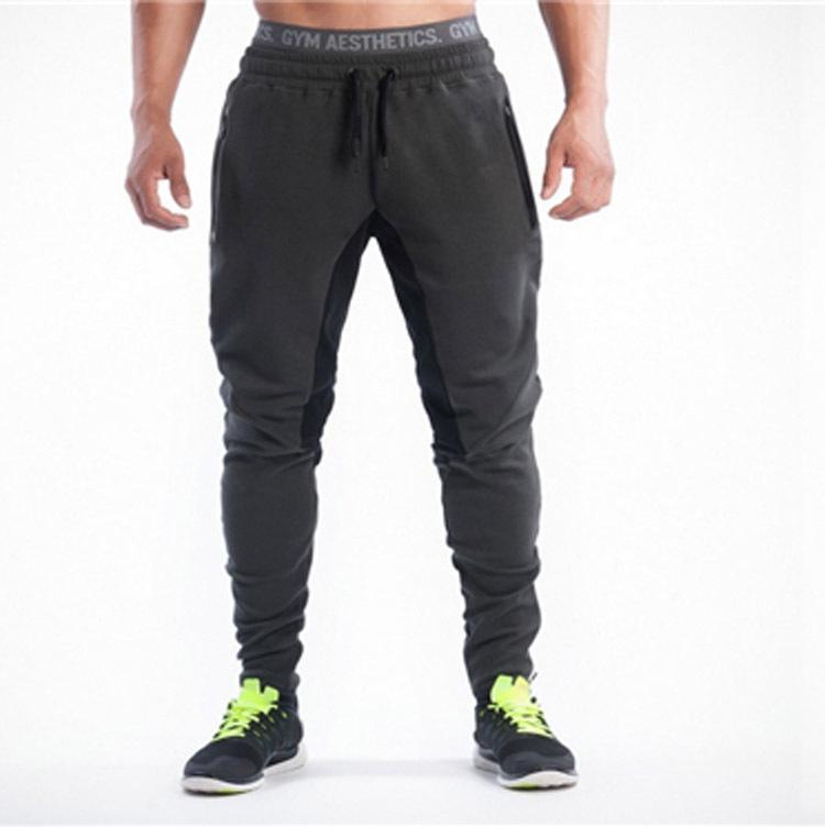 Sports de plein air Courir Pantalon respirant Fitness Training Hommes Jogging Sweatpants Basketball Tennis Pantalons