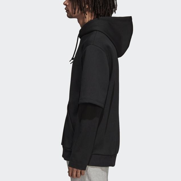 Mens Femmes À Capuche Sweatershirt Marque Hoodies Pull Outwear Vestes Faux 2 En 1 Hiphop Streetwear Designe À Manches Longues Haut De Sport B100006L