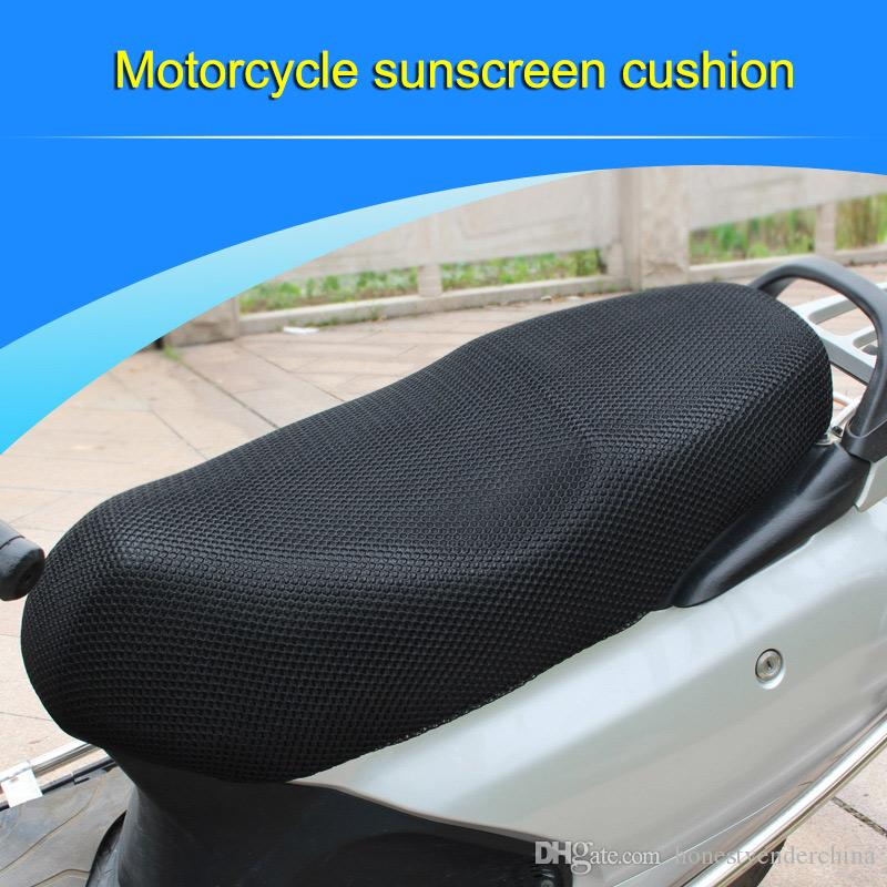 3D Anti-slip Styling Motorcycle Seat Cover Net Practical Heat insulation sleeve