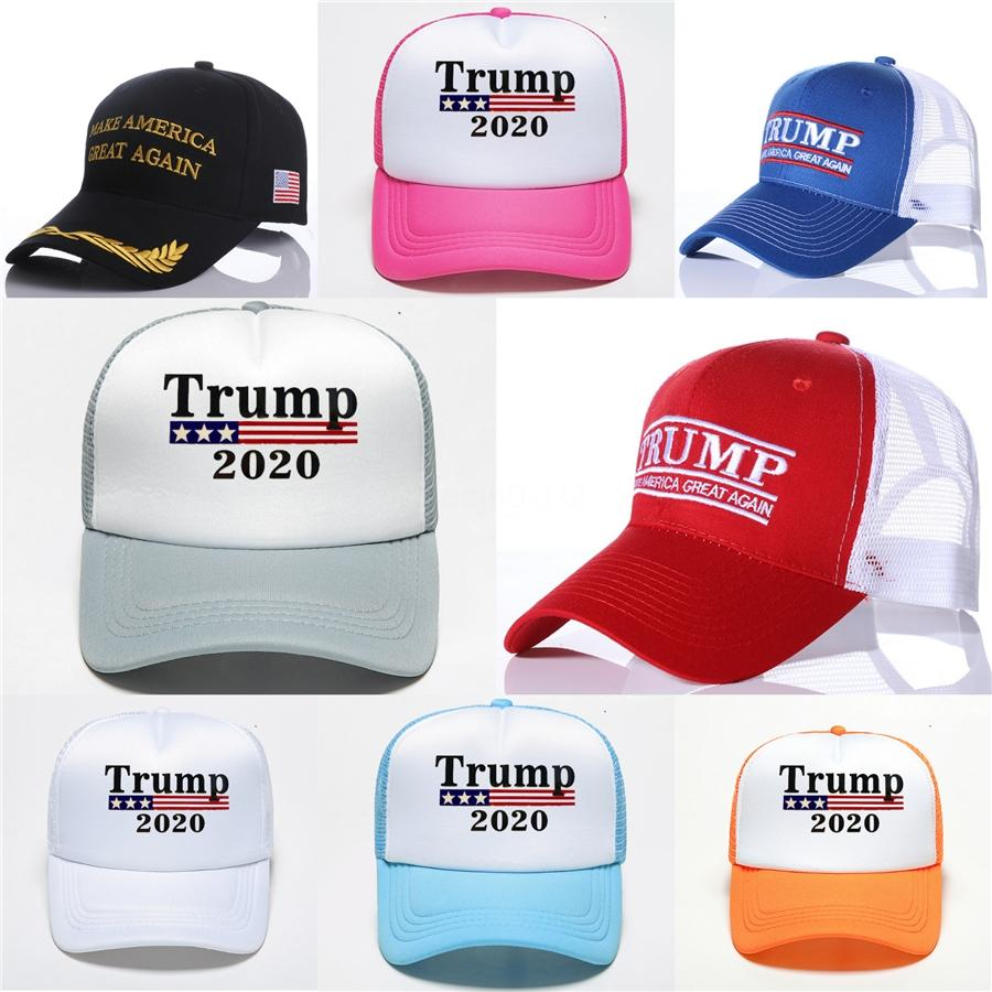 New 2020 Trump Hair Baseball Cap Cartoon Election Hat Funny 2020 Embroidery Party Hats Men Women Accessories Hh9-2977 #250