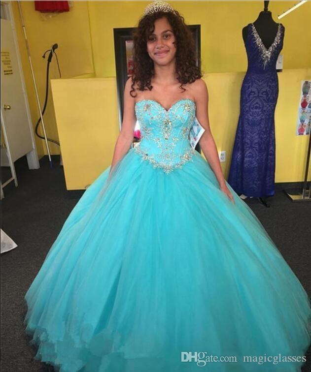Modest elegante Quinceanera Kleider Ballkleid-Schatz-Tulle-Blumen-Muster-Sleeveless Bonbon-16-Abschlussball-Kleid-Mädchen-formale Abendkleider
