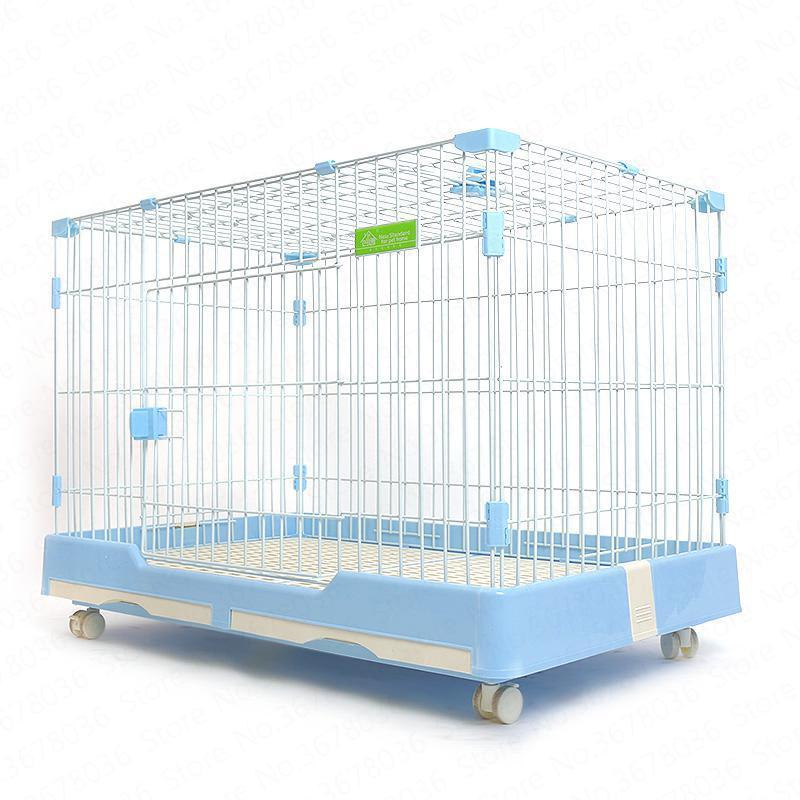Gabbia per cani con WC Domestico per interni Cane Gatto Piccolo Medio Universale Piccola Villa carina Spazio grande Gabbia per animali domestici Forniture per animali domestici