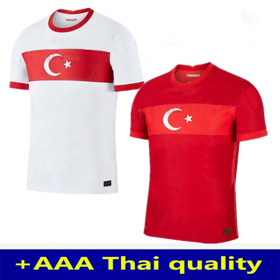 2020 Türkei Fußball-Trikot 20 21 Yazici Caglar Söyüncü Demiral Ozan Kabak Calhanoglu Celik HOMA weg Fußball-Hemden thailand S-XXL