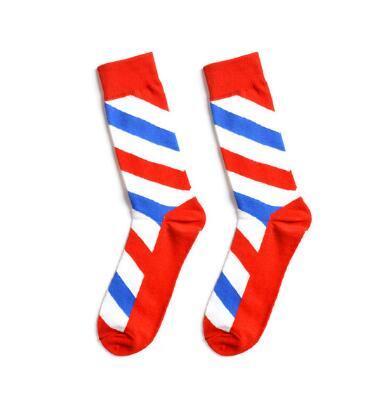 Numéro d'article 329 chaussettes de sport en coton occasionnels adaptés pour le football et les jeux de basket-ball numéro de badminton 6989
