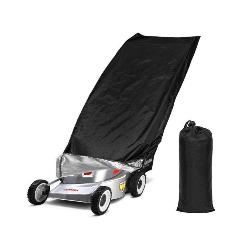 Tondeuse Protection anti-poussière pluie Protection UV étanche Fit avec cordon de serrage universel à effet de serre couverture Sacs de rangement
