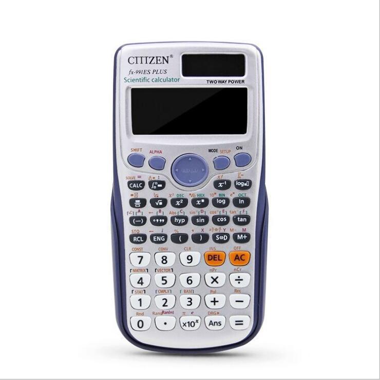 estoque direto da fábrica! calculadora científica 417 completa calculadora função fx-991ES além de computador de aluno