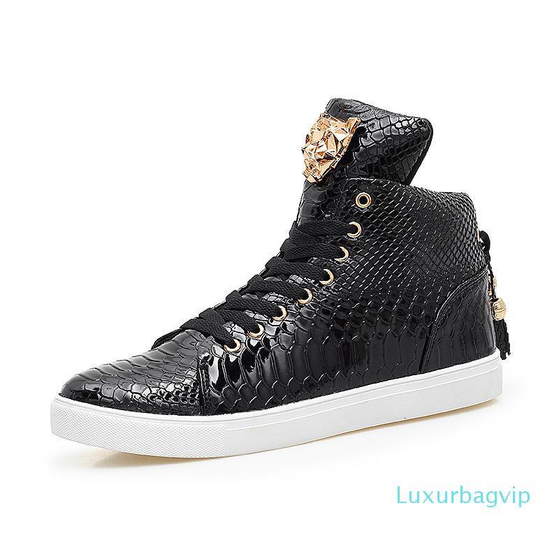 2019 европейская и американская хип-хоп обувь пара высоких верхних мужских ботинок корейская версия тренда