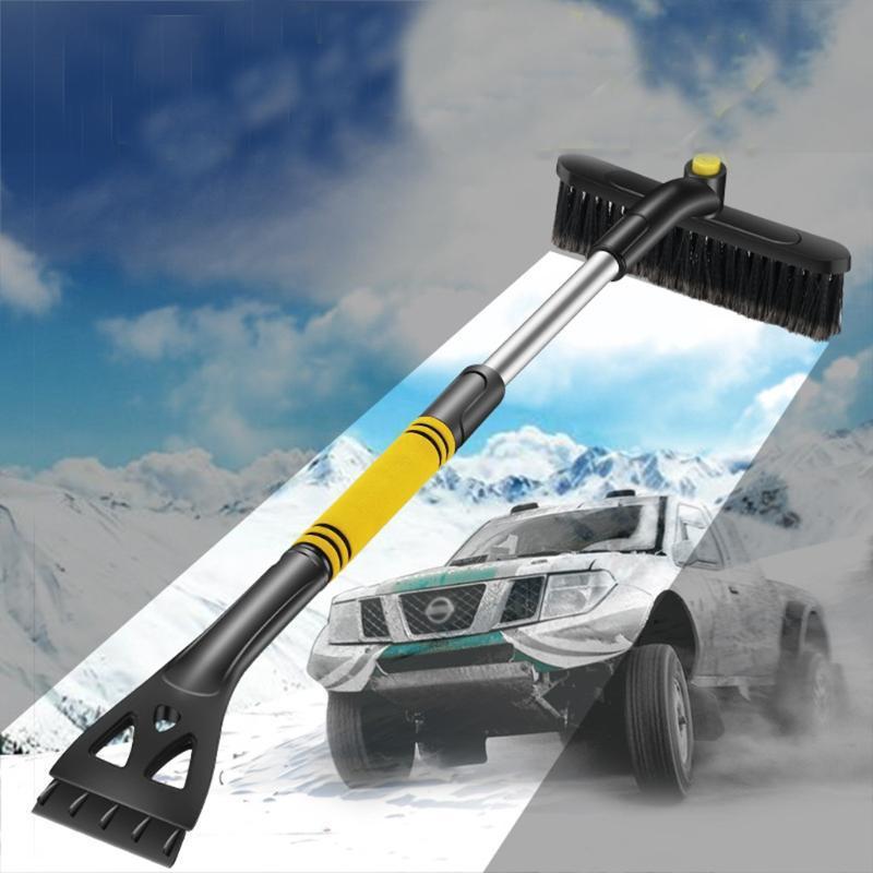 # 30 New Car Retiro de nieve de la pala de nieve retráctil cepillo de raspado de la pala de cristal de hielo del invierno de Frost Herramienta de eliminación de raspador