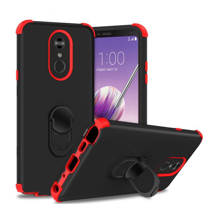 Shelly Kickstand Armadura caso do telefone móvel 3 em 1 tampa de combinação para Samsung Galaxy S10 Full-corpo robusto caixa da galáxia S10 entregas Caso A
