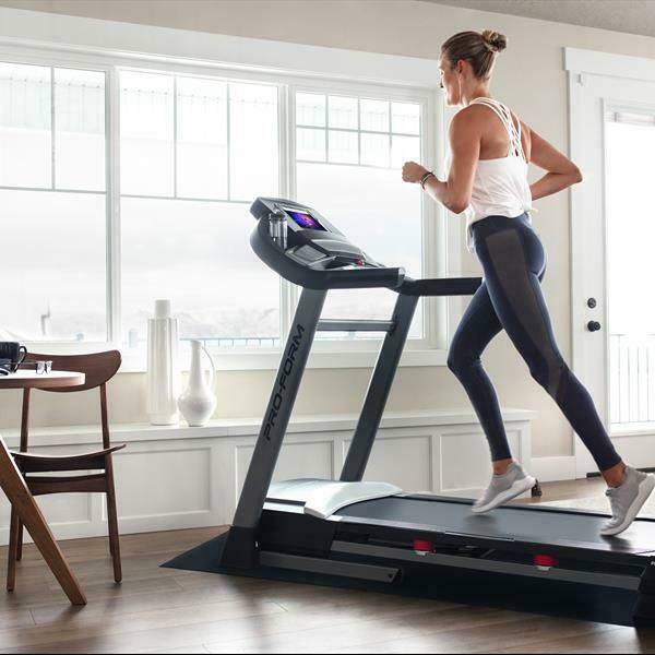 أفضل نوعية قابلة للطي HD شاشة ملونة الكهربائية المطحنة بروفورم الأداء 600i المطحنة الرياضة تشغيل آلة المشي في الأماكن المغلقة جديدة