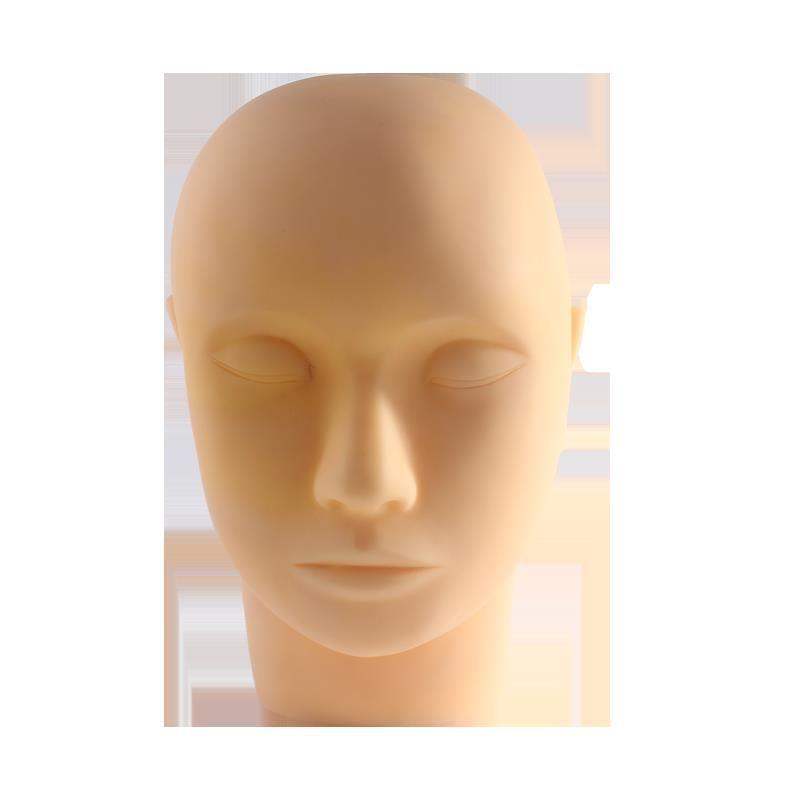 Dummy Kopfform Beauty-Massage-Werkzeug Make-up Praxis Pfropfen Wimper Tätowierung Modellkopf semi-permanentes Werkzeugs