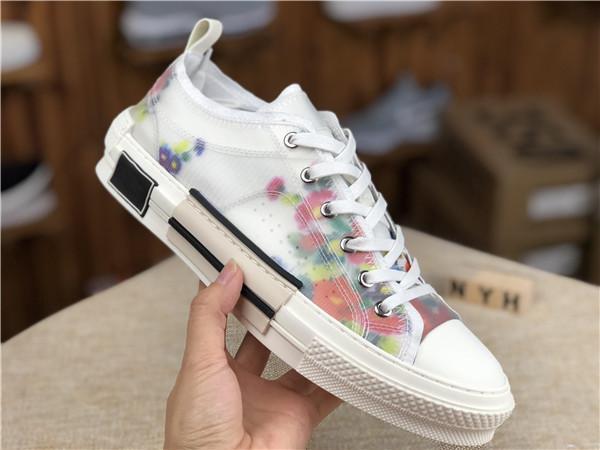 Marque Tanvas technique abaisse B23 baskets Hommes Femmes Designers Sneaker Chaussures New Hot Entraîneur Chaussures Mode D12