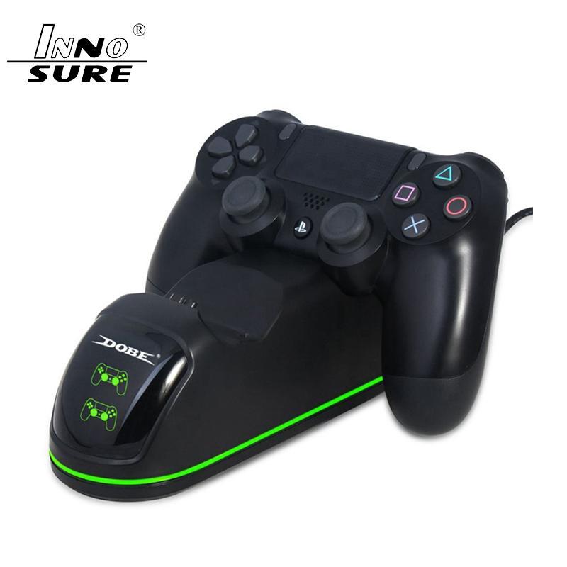 PS4 Regolatore di carica, Ps4 controller di ricarica Docking Station Indicatori Luce LED inferiore Luce PS4 / PS4 Slim / PS4 Pro Controll