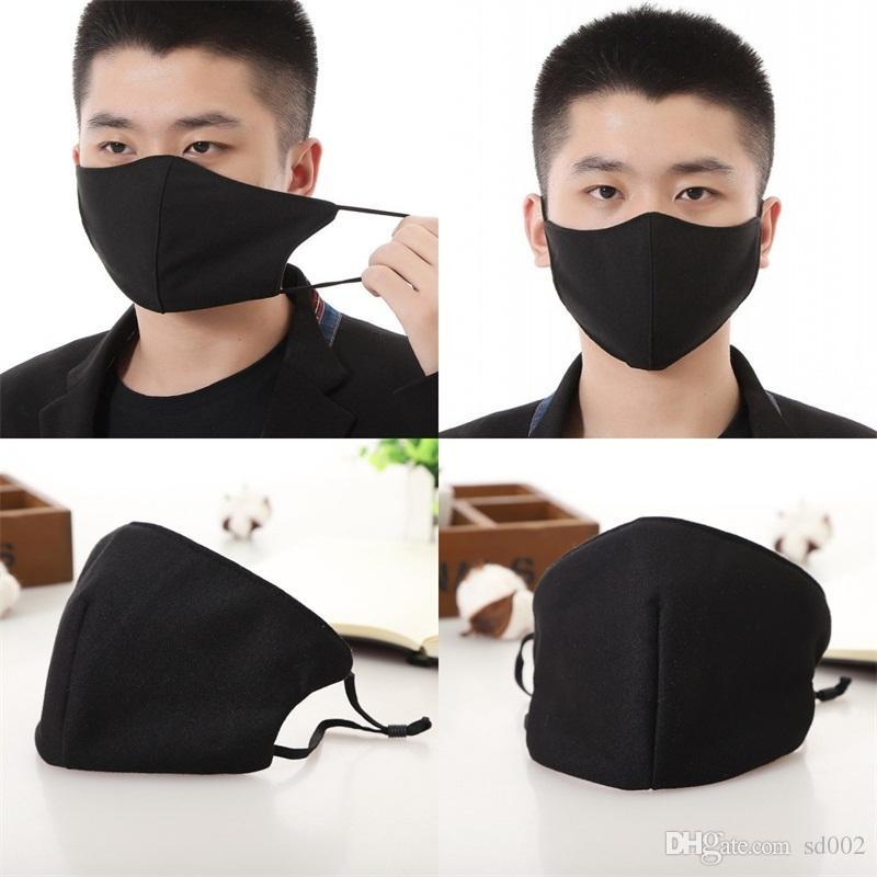 Dustproof boca limpa Máscara Máscaras Adulto protectora protetora respirável Mascherines Homens Mulheres Respirador Popular Design 2 5AS H1
