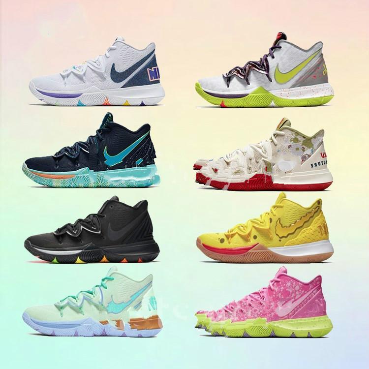 Бесплатные горячие мальчики дети Кирие в 5 звезд баскетбол обувь Ирвинг 5С Мужчины Женщины увеличения спортивной подготовки высокого лодыжки кроссовки размер 36-46