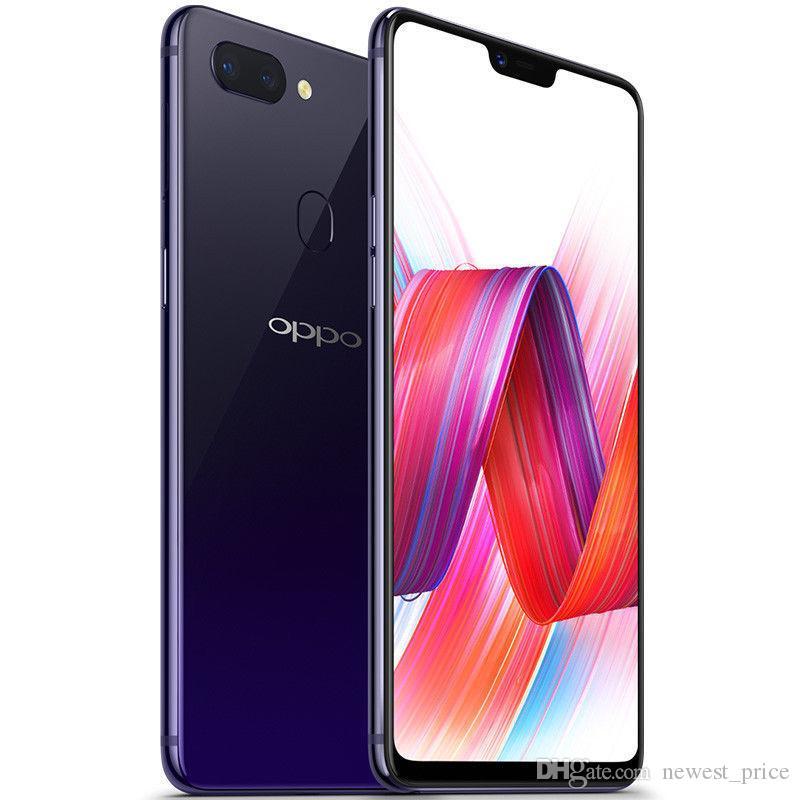 "Original OPPO R15 4G LTE Cell Phone 4GB RAM 128GB ROM Helio P60 Octa Core Android 6.28"" OLED Full Screen 20MP 3450mAh Fingerprint ID Smart Mobile Phone"