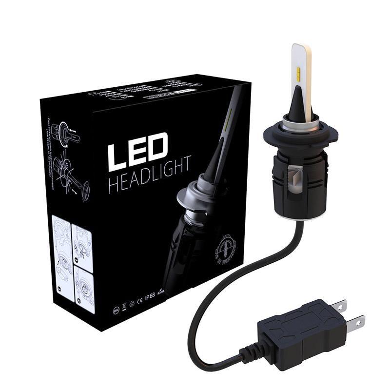2Pcs B6S Car Headlight 12V 24- H4 H7 H1 H3 H11 H13 H27 HB3 HB4 9004 9005 9006 9007 72W Headlamp 6000K LED Light Bulb