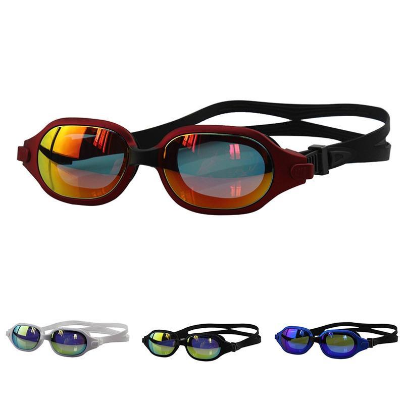 GlassesAnti الضباب تعريف للأتربة سباحة المضادة للأشعة فوق البنفسجية عالية نظارات للماء مطلي عدسة النظارات النساء الرجال // HBIN
