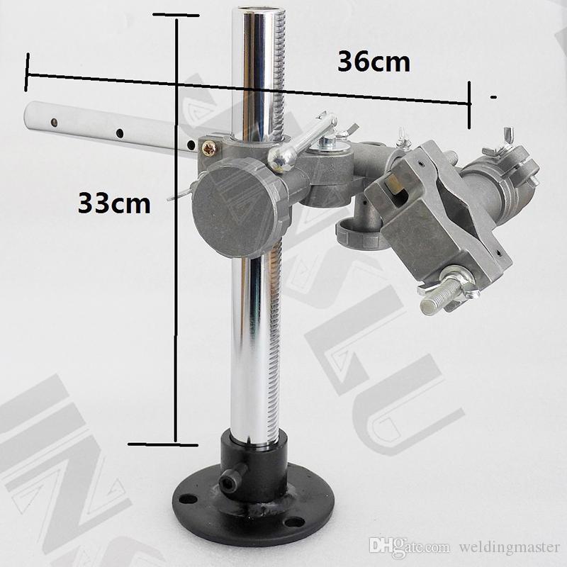 MIG MAG TIG لحام CO2 آلة لحام ميضعة الدوار 36x33cm لحام حامل الشعلة دعم ميغ بندقية حامل المشبك أطر