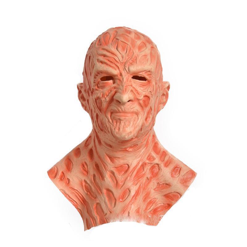 Freddy Krueger Latex Maske Handschuhe Kostüm-erwachsene Partei-Kostüm Freitag der 13. Killers Jason Horror Filme Scary Mask