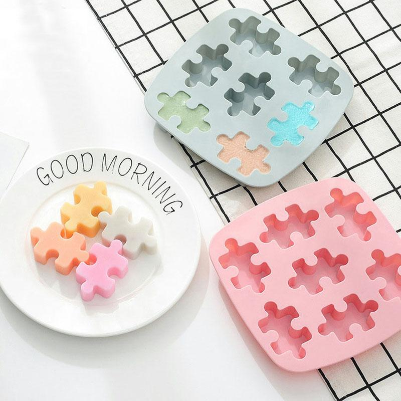6 in 1 torta del silicone Stampi in silicone Stampi torta stampo in silicone utensili da cucina, decorazioni, accessori fondente