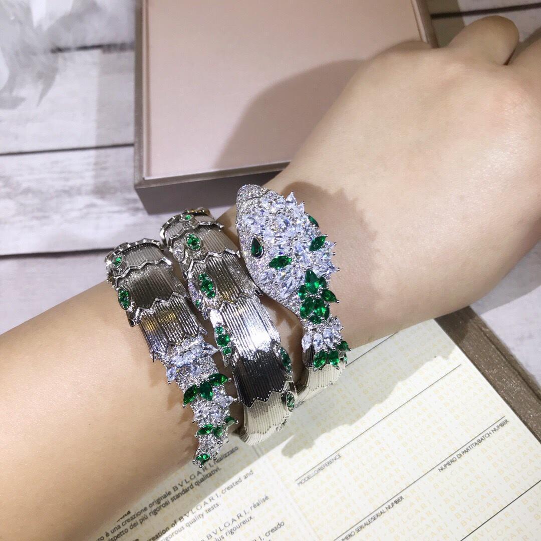Bangle Snake Bracelets for Women Jewelry Birthday Valentine New Year Gift