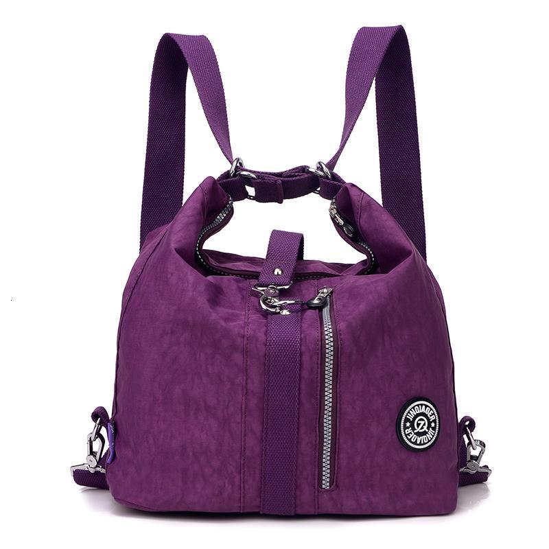 Bir ana V191209 kesesi Yeni 2018 Moda Kadın Çanta Messenger Çift Omuz Çantaları Tasarımcı çanta Yüksek Kaliteli Naylon Kadın Çanta bolsas