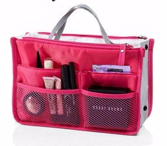 Multifunction Makeup Organizer Bag Women Travel Cosmetic Bags For Make Up Nylon Toiletry Makeup Bags Cases Cosmetics