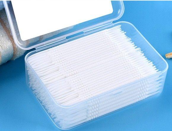 200pcs hygiène buccale dents dentaires soie dentaire brosses interdentaires blanchiment nettoyant pour les enfants