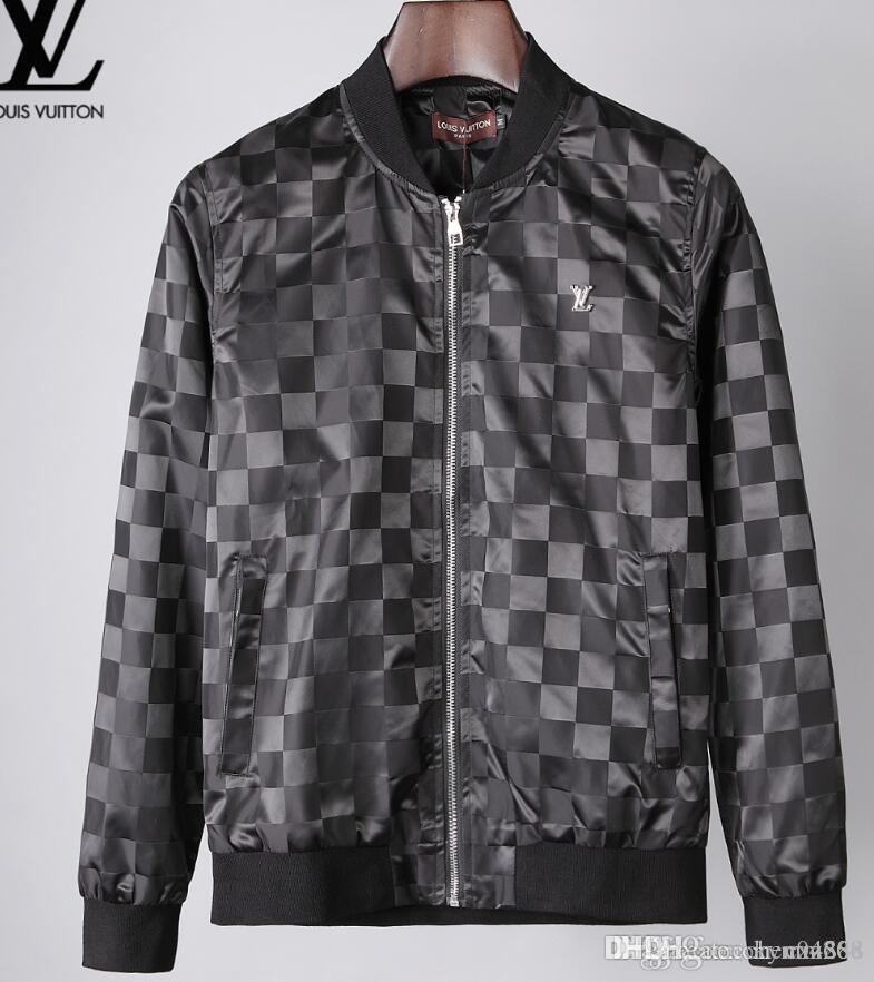 erkek giyim parti için sonbahar ve kış, lüks moda hattı için yeni yüksek kaliteli Avrupa ceket, BOYUT M ~ 3XL # 03