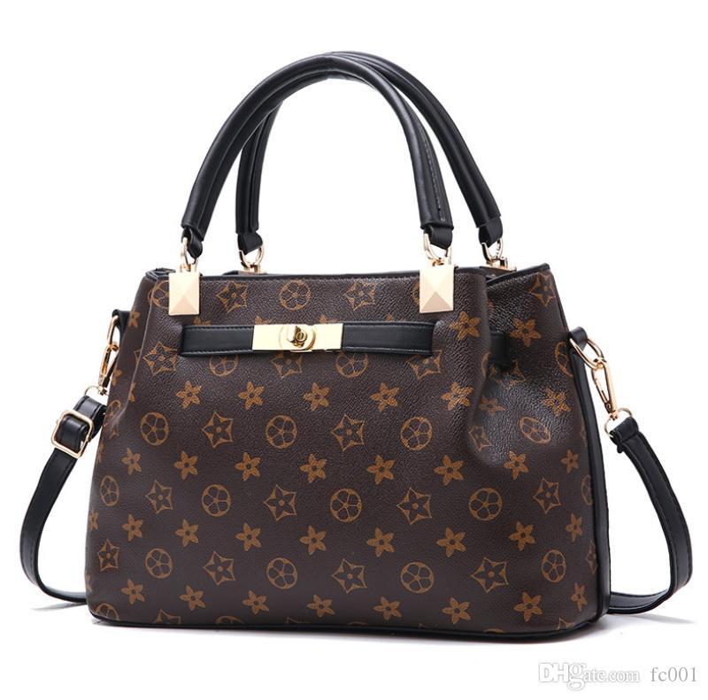 Luxus-Handtaschen-Frauen-Beutel der beiläufigen Handtaschen Mode-Frauen-Schulter-Beutel-Qualitäts-Leder PU-berühmte Marken-Plaid-Handtasche