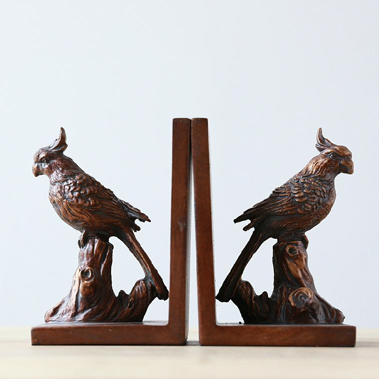 American Country Home Decorative Arts Crafts Book Stand Bird Parrot Resin Book Block Ornaments Accessories Home Accessories Home Decor From Lyjhome 30 16 Dhgate Com