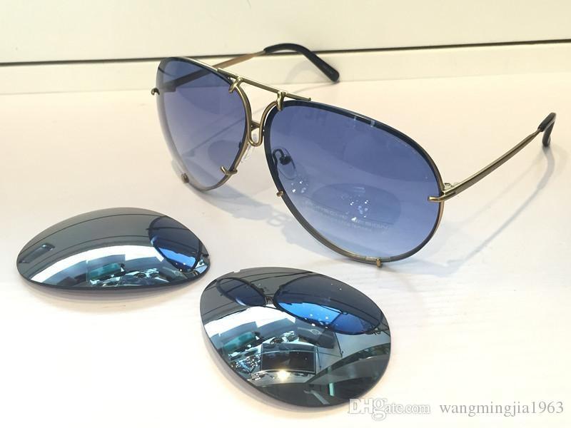 Nuevo estilo de calidad Gafas de sol Soleil Mujeres protege a la moda Sol Sun P84780 Gafas de sol Gafa Top con los ojos de gafas LUNETTES DE MENS HOMBRES EDWL