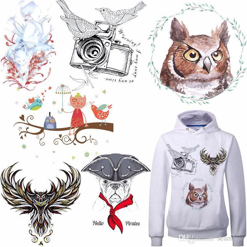 Beautiful Girls Shape Heat Transfer Stickers A-level Washable Iron On Applique For T-shirt Dresses DIY Clothes Decoration