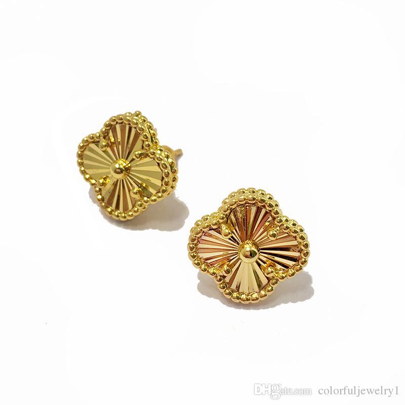 2019 Fashion Designer Earrings Women Circle Stud Earrings Jewelry Gold Earrings For Women