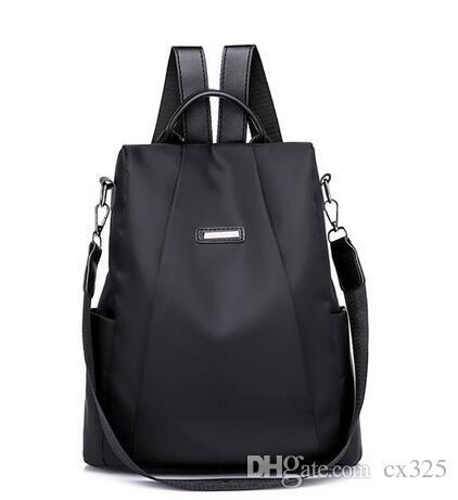 Shoulder bag oblique bag 2019 ladies backpack shoulder girl waterproof travel bag #Zer