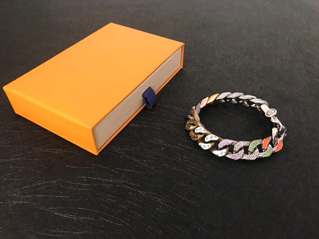 niños y niñas pulseras de calidad superior brazalete de acero inoxidable colorido temple viejo brazalete